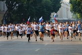 Près de 1.500 participants à la 46e course du journal Hà Nôi Moi