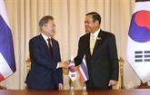 Le président sud-coréen en visite de Bangkok