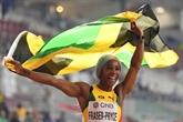 Mondiaux d'athlétisme : Fraser-Pryce, retour en trombe