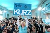 Les Autrichiens plébiscitent Sebastian Kurz et les Verts