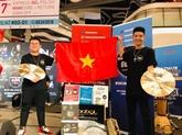 Des étudiants vietnamiens terminent premiers dans le duo de rythmes de Drum Off Global 2019