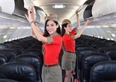 Une journée de recrutement d'hôtesses de l'air pour Vietjet à Tokyo