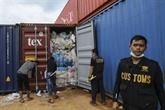 L'Indonésie a renvoyé plusieurs centaines de conteneurs de déchets