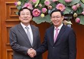 Encourager les entreprises sud-coréennes à investir dans les parcs industriels spécialisés