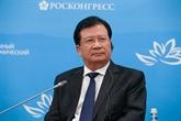 Le vice-Premier ministre Trinh Dinh Dung au 5e Forum économique oriental