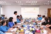 Une délégation de la Fédération syndicale mondiale en visite à Binh Duong