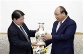 Le Premier ministre vietnamien reçoit le ministre nicaraguayen des Affaires étrangères