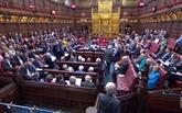 Brexit: la Chambre des Lords britannique vote un projet de loi