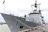 Un navire de guerre philippin entre dans la mégapole du Sud