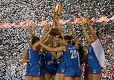 Euro dames de volley: la Serbie conserve son titre