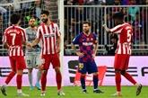 Supercoupe d'Espagne : l'Atlético élimine le Barça 3-2 et retrouvera le Real en finale