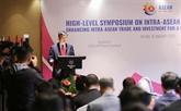 LASEAN veut accroître le commerce et linvestissement intra-régionaux