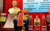 Le Cambodge remet l'Ordre royal du Sahametrei à un officier vietnamien