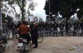 Police de Hanoï : Lê Dinh Kinh mort en tenant une grenade à la main