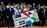 Volley : les Français arrachent en costauds leur billet pour les JO de Tokyo