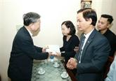 Le général Tô Lâm rend visite aux familles des trois policiers sacrifiés