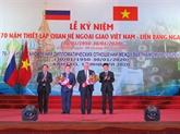 Cân Tho célèbre le 70e anniversaire des relations Vietnam - Russie