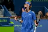 Tennis : Moutet débordé par Rublev en finale à Doha