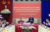 Le Premier ministre exhorte Hà Nam à faire des efforts dans le développement