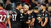 Angleterre : avec un Agüero historique, Manchester City repasse 2e