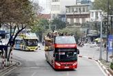 Ouverture des lignes de bus à impérial pour les touristes de HCM-Ville