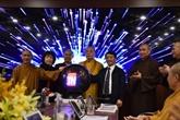 Inauguration du Centre de gestion électronique de l'Église bouddhique du Vietnam