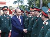 Le PM inspecte la préparation au combat dans la Ve Région militaire