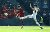 Championnat U23 de lAsie 2020 : le Vietnam fait match nul contre la Jordanie