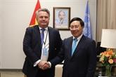 Renforcement des relations Vietnam - Ukraine