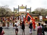 Plusieurs activités reproduisant le Têt traditionnel de la Cour royale de Huê