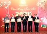 Pham Binh Minh salue les contributions de la presse aux activités extérieures