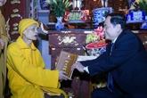 Les meilleurs vœux du Têt traditionnel pour l'Église bouddhique du Vietnam