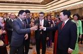 Têt : rencontre avec le corps diplomatique à Hanoï