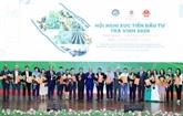 Nguyên Xuân Phuc à la conférence sur la promotion de l'investissement à Trà Vinh