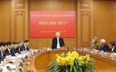Réunion du Comité central de pilotage de la lutte contre la corruption àHanoï