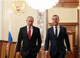 Russie : démission du gouvernement