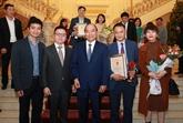 Le PM félicite les lauréats, souligne le rôle de la presse révolutionnaire