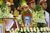 Obsèques des trois policiers décédés dans l'affaire de Dông Tâm