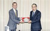 Hô Chi Minh-Ville renforce sa coopération avec les États-Unis