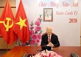 Conversation téléphonique entre Nguyên Phu Trong et Xi Jinping