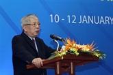Nguyên Chi Vinh reçoit le coordonnateur résident des Nations Uníe au Vietnam