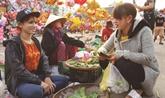 Cho Gò, le marché qui se tient uniquement le Jour de l'An