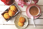 Madeleines aux fruits de la passion
