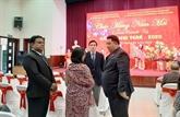 Têt : rencontre avec les diplomates et les représentants des ONG