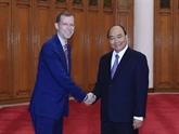Le PM reçoit le recteur de l'École John F. Kennedy