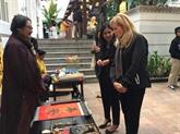 Un marché du Têt haut en couleurs à l'hôtel Métropole Hanoï