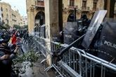 Liban : près de 400 blessés dans les heurts entre manifestants et forces de l'ordre