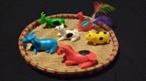 Les figurines en pâte de riz, plus qu'un simple jouet