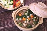 Soupe aux boulettes de bœuf et aux légumes