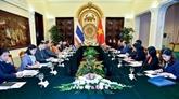 Consultation politique annuelle Vietnam - Thaïlande